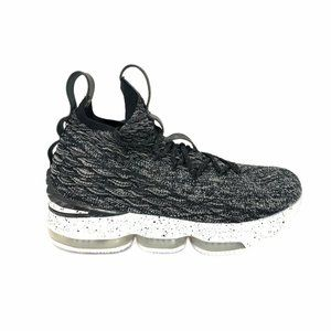 Nike Lebron XV Oreo Ashes Basketball Sneaker Youth